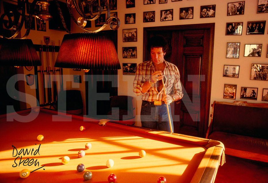Tom Jones | RARE CELEBRITY PHOTOGRAPHIC PRINTS BY DAVID STEEN