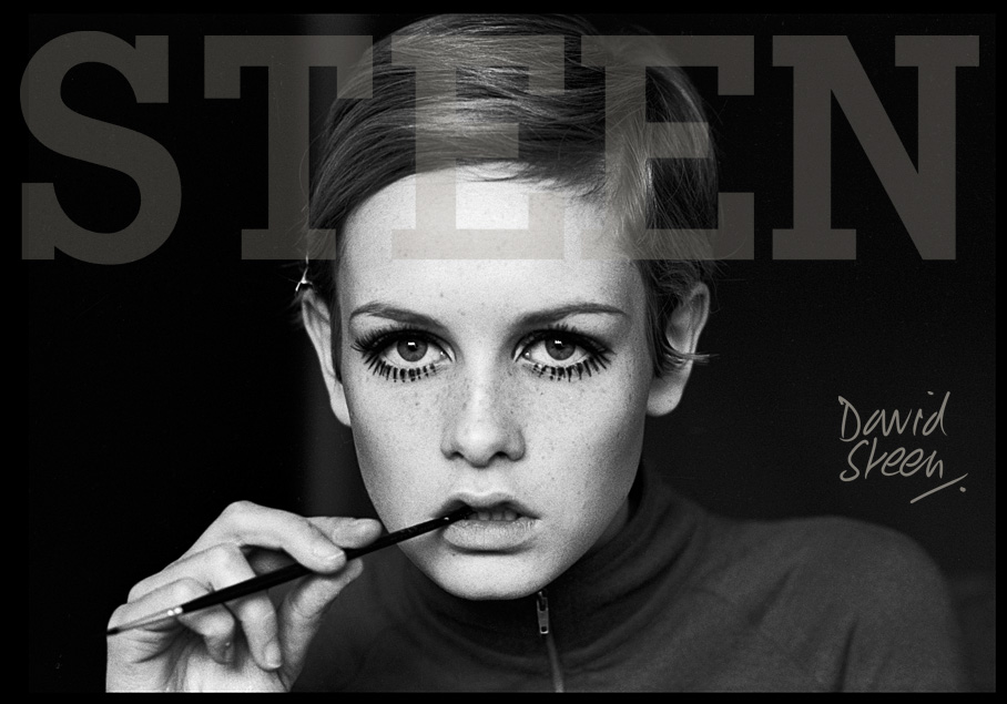 Twiggy | RARE CELEBRITY PHOTOGRAPHIC PRINTS BY DAVID STEEN
